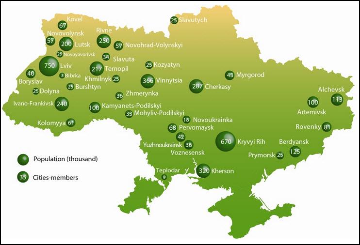 Ukraine-map-showing-EECU-member-cities